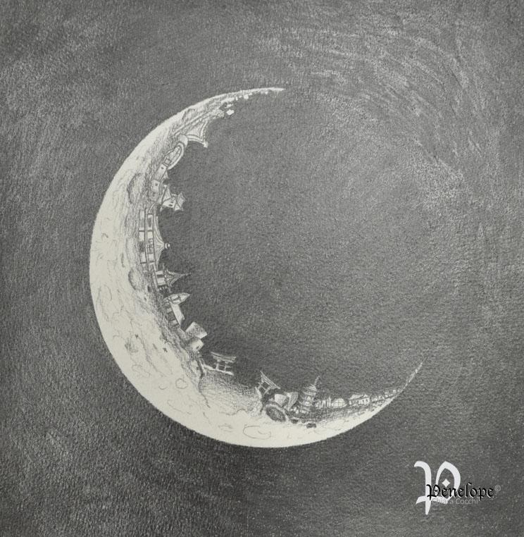 City On The Moon Penelope Arts