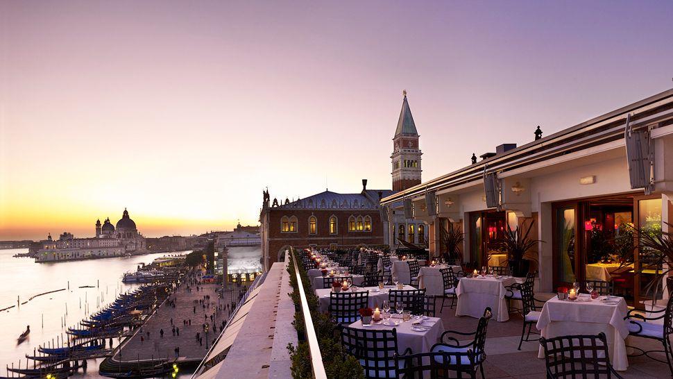 Terrace, Hotel Danieli, Venice