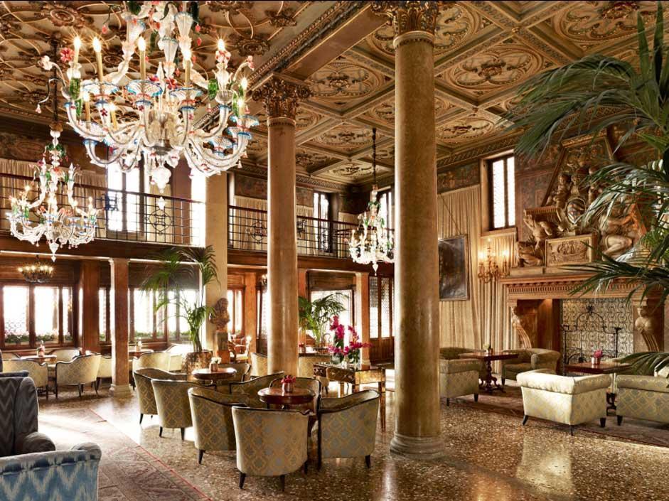 Lounge area, Hotel Danieli, Venice