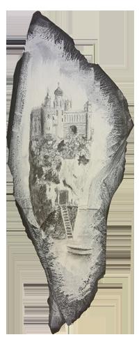 La Città degli Imperatori (ardesia)